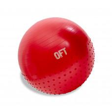 Мяч гимнастический с массажным эффектом 65 см FitTools