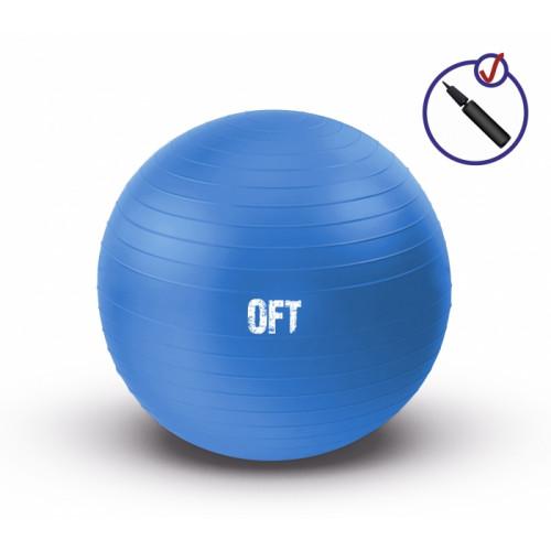 Мяч гимнастический 75 см FitTools Синий