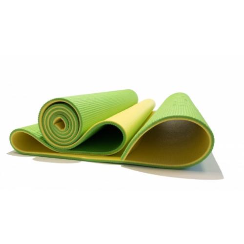 Коврик для фитнеса Banana Lime 6 мм Original FitTools