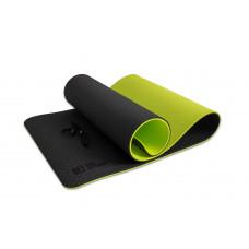 Коврик для йоги двухслойный TPE 10 мм, OFT