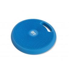 Массажно-балансировочная подушка с ручкой OFT Синяя