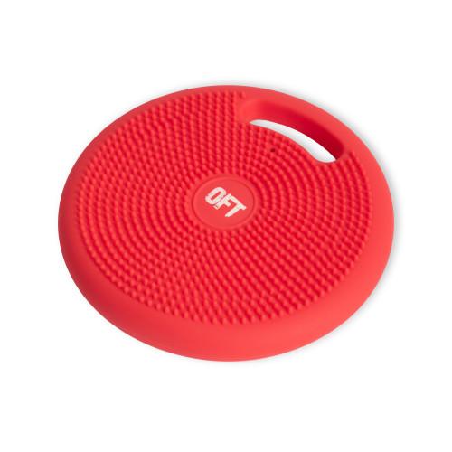 Массажно-балансировочная подушка с ручкой OFT Красная