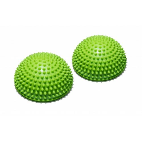 Полусфера массажно-балансировочная FitTools Зеленый