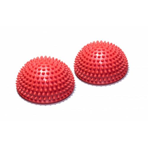 Полусфера массажно-балансировочная FitTools Красный