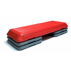Степ-платформа профессиональная FitTools 3 уровня 108x41.5x20 см