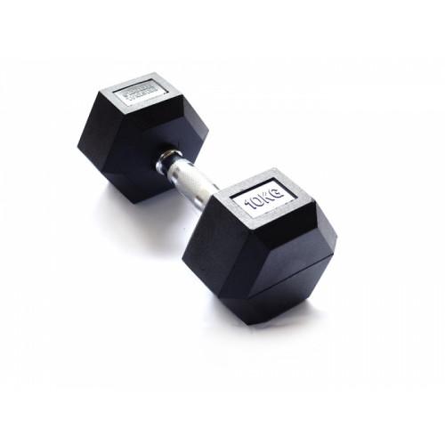 Гантель гексагональная 10 кг FitTools