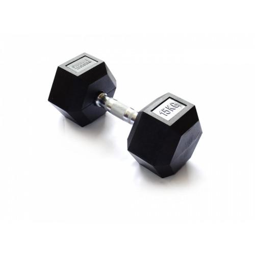 Гантель гексагональная 15 кг FitTools