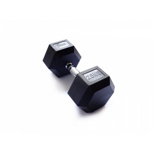 Гантель гексагональная 25 кг FitTools