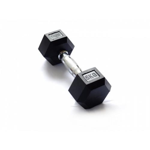 Гантель гексагональная 5 кг FitTools