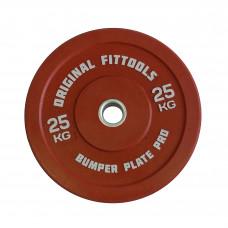 Диск бамперный 25 кг Original FitTools