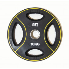 Диск для штанги олимпийский полиуретановый 10 кг Original FitTools