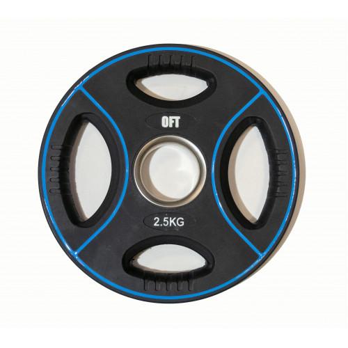 Диск для штанги олимпийский полиуретановый 2,5 кг Original FitTools