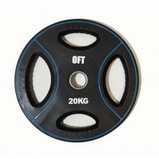Диск для штанги олимпийский полиуретановый 20 кг Original FitTools