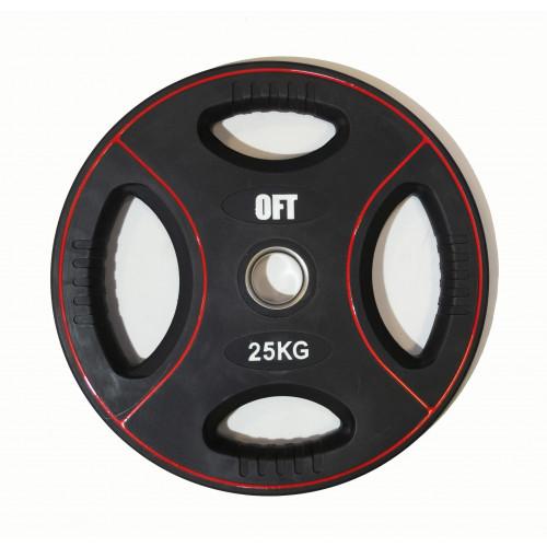 Диск для штанги олимпийский полиуретановый 25 кг Original FitTools