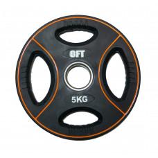 Диск для штанги олимпийский полиуретановый 5 кг Original FitTools