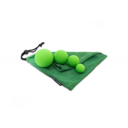 Набор из 4-х массажных мячей, OFT