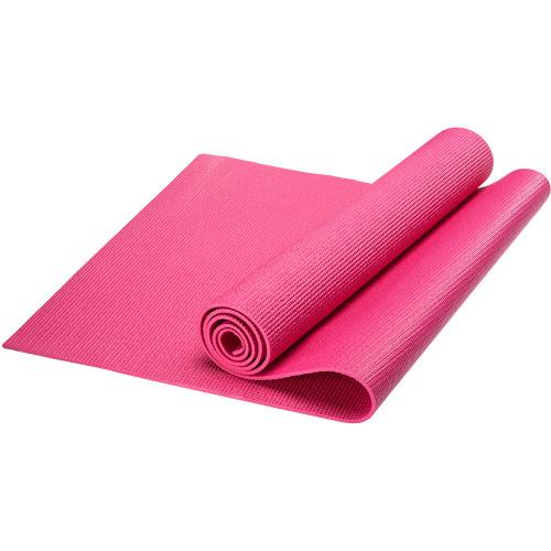 Коврик для фитнеса и йоги из ПВХ 173х61х0,5 см