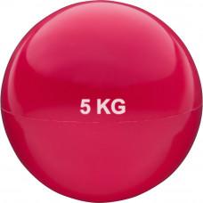 Медбол 5кг Красный