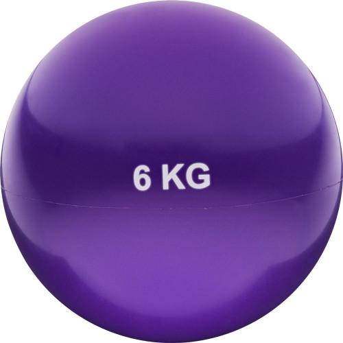 Медбол 6кг Фиолетовый