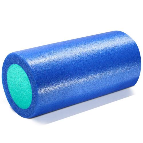 Ролик для йоги полнотелый 2-х цветный, 30см