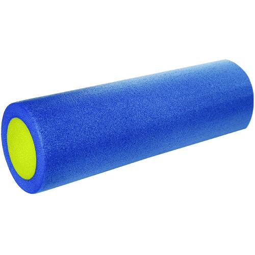 Ролик для йоги полнотелый 2-х цветный, 45см