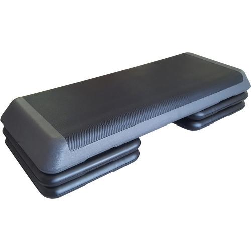 Степ-платформа обрезиненная 3х-уровневая PROFI 110x41x20 см