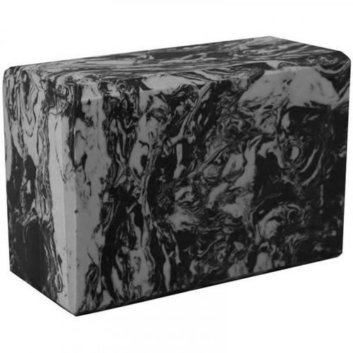 Йога блок - Серый гранит