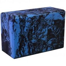 Йога блок - Синий гранит