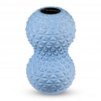 Мячик массажный двойной 17х8,5 см, INDIGO
