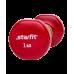 Гантель виниловая DB-101 StarFit 1кг, красная