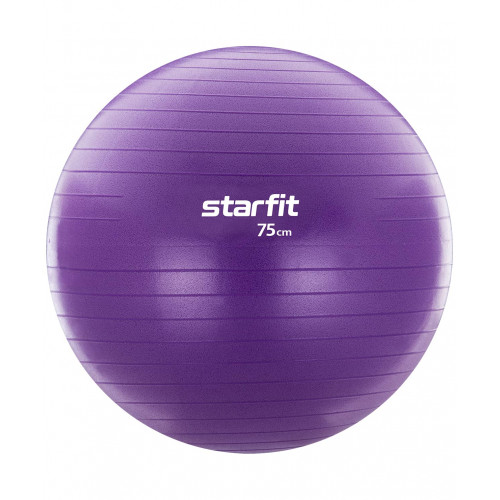 Мяч гимнастический GB-106 StarFit с насосом, 75 см