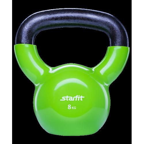 Гиря виниловая DB-401 StarFit 8кг, зеленая