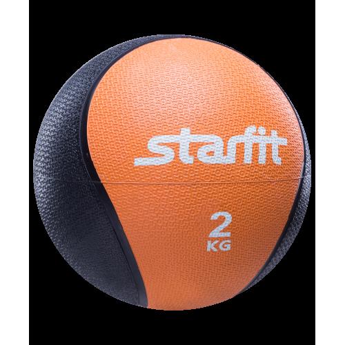 Медбол PRO GB-702 StarFit, 2 кг