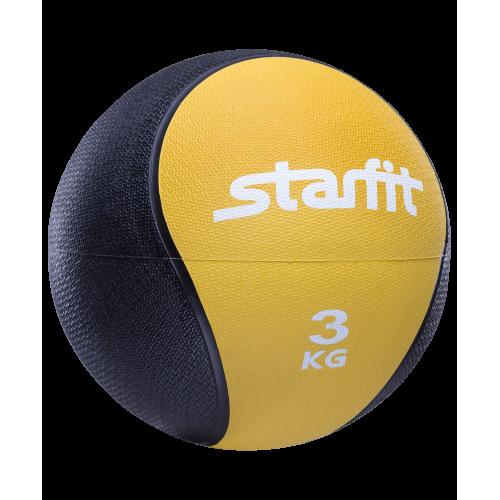 Медбол PRO GB-702 StarFit, 3 кг