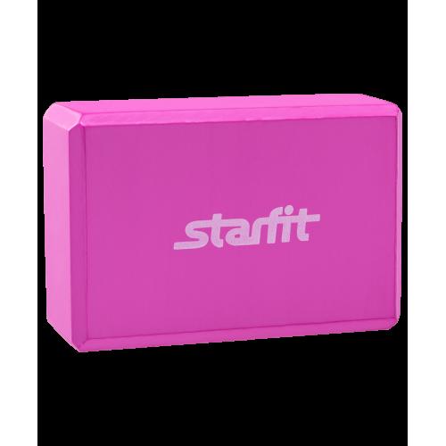 Блок для йоги FA-101 StarFit, розовый