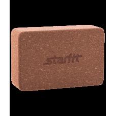 Блок для йоги FA-102 StarFit, Пробка