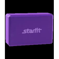 Блок для йоги FA-101 StarFit, фиолетовый